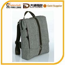 "Cotton 15"" Vegan Laptop Backpack ,custom backpack laptop bag"
