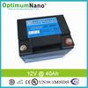 12v rechargeable car jump starter lipo battery 40ah