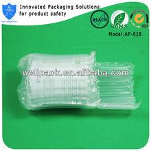 Glossy new fashion air column inflatable air bladder cushion for packing milk powder can