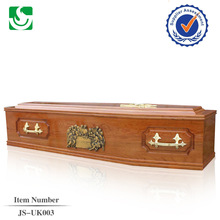 High end funeral ash wood antique coffins supplier