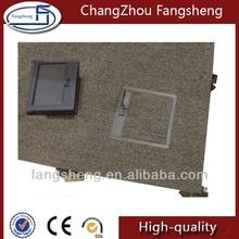 Steel bare finish raised floor factory