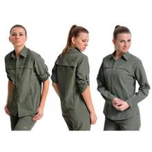 Wholesale Ladies long sleeve quick dry hiking shirts