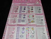 scrapbook stickers /diamond sticker for scrapbook, code LM1006-09