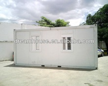 Steel Prefab shipping living container homes /coffee room/ movable container home