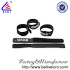 2014 hot selling 250mm*220mm nylon velcro cable tie/velcro tie/printed cable tie