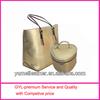 2014 mothers day wholesale gifts handbag& cosmetic bag set