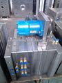 Plástico de óleo do motor do molde tampa com desapertando dispositivo/cap moldagem