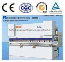 China supplier WC67Y bending press machine price, cnc hydraulic carbon steel door frame Economical 40 ton press brake