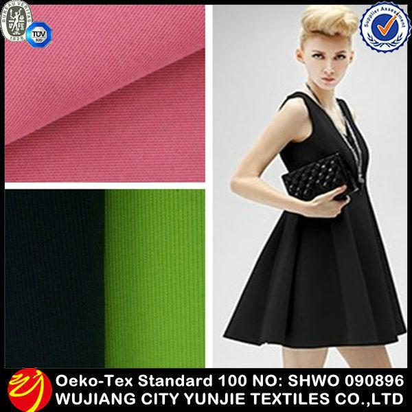 Popular Spandex Polyester Weft Knitting Fabric