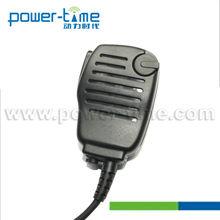 With volume knob Data radio speaker mic for Sepura STP8000