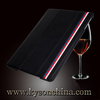 New 2014 Book leather case for apple ipad 5 wallet case, case for 9.7 tablet pc cover with standing