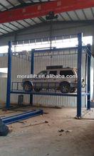 4 columun hydraulic lift