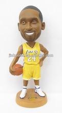 2014 new resin NBA sport basketball player Kobe bobble head