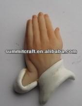 Praying Hands Pendant resin creative christening souvenirs Church craft