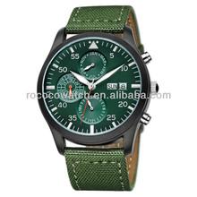 Rococo X1010 japan movt watch military watch king quartz watch