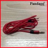 3.5mm mini plug stereo audio cable-Red