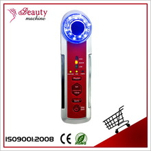 BZ0107B beauty salon equipment beauty products 3 mhz ion facial cavitation rf vacuum multifunction handheld suction massager