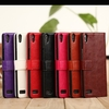 2014 hottest Fine sheep lines pu leather case for huawei p6,for huawei ascend p6 wallet case