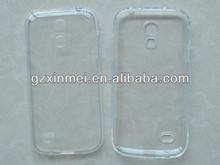 TPU cover for Samsung Galaxy S4 Mini case,for samsung i9190 clear color handbag