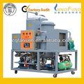 el campo magnético de purificación de lavado automático de aceite del motor de la planta de refinación