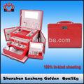 Personalizado multi- cajón caja de joyería impreso el logotipo