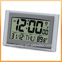 Radio Controlled Clock Digital Wall and Table Clock Rcc-9551WWVB