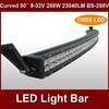 hotsale 50inch 288w spot flood combo beam led light bar truck cree light BS-288V