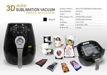 New Mini multifunctional 3D vacuum sublimation heat transfer press