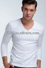 men's wholesale plain long sleeves tight t shirt