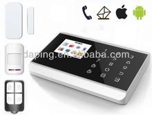 Touch Keypad Wireless Home GSM&PSTN Telephone Land Security Burglar Alarm System