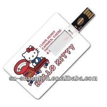 bulk 2gb credit card usb flash drive