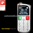 cell phones for senior citizens elderly people gsm mobile phone safty SOS alarm button for old people