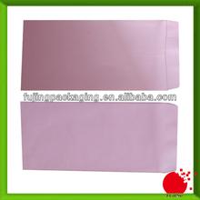 Plain pink envelopes with gummed lip