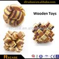 Mais famosos brinquedos, engraçado 3d bambu crianças puzzle