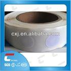 white printable ntag203 square nfc tag rolls
