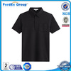 cheap black plain sport polo t shirt for men