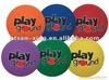 Playground Ball With Logo