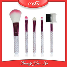 MSQ 5pcs cheap makeup brush set for gift