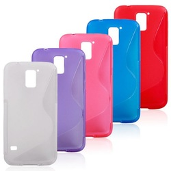 Mobile accessories ! tpu s line case for galaxy s2