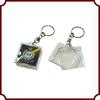 Promotional Custom Solid Acrylic Keychain