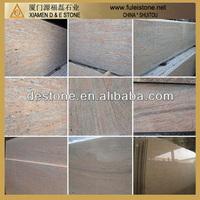 Raw silk granite slab a-frame