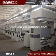 New Design computer color register rotogravure printing machi