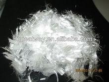 pet fibre concrete polyester fiber glossy bright PET fiber