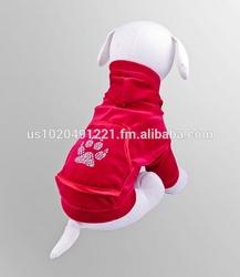 Dog Clothes | Pet Apparel | High Quality - made in Europe | Dog Velour Sweatshirt | Dog Clothing | Fashionable dog pet Coats