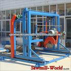 popular!!! 25HP big power DS1300 double blades angle circular saw wood cutting machine