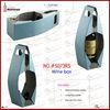 Irregular Shape Leather Single Wine Carrier (5073R5)