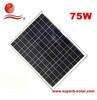 price per watt multi-silicon solar panel 75W