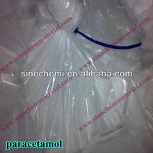 Positive Reaction White Paracetamol Powder 99% Min Acetaminophen