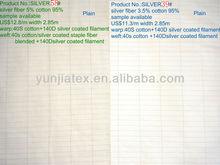 Silver fiber antistatic fabric for earthing sheet