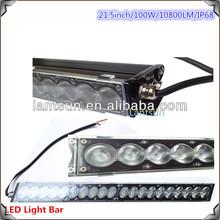 Combo Beam 21.5inch 100W LED Work Light Bar Lamp Alloy ATV Flood 4x4 OffRoad JEEP